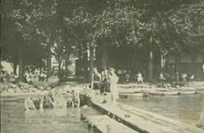 Powers Lake Wisconsin Historical Photo