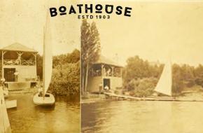 Powers Lake Wisconsin Boathouse - Established 1903